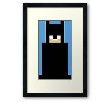 8-Bit Bat Framed Print