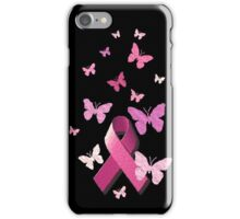 Breast Cancer Pink Awareness Ribbon iPhone Case/Skin