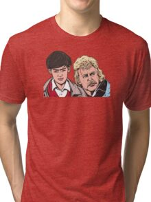 Troy and Zap Rowsdower Tri-blend T-Shirt