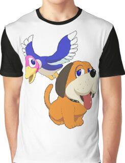 Super Smash Bros. Duck Hunt Graphic T-Shirt