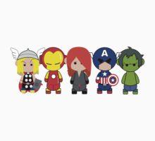 Little Avengers Cartoon Kids Clothes