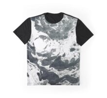 Watercolor B&W Graphic T-Shirt