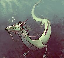 Haku. Spirited Away by Armellin