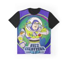 Buzz Lightyear Star Command Graphic T-Shirt