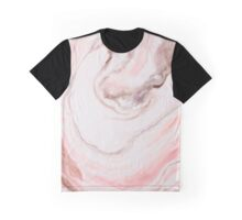 Modern marble pink  Graphic T-Shirt