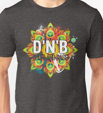 Drum And Bass - Trippy Music Design Unisex T-Shirt