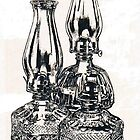 Oil Lamps by BarbBarcikKeith