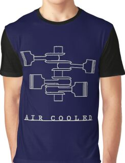 VW Flat 4 Blueprint Graphic T-Shirt
