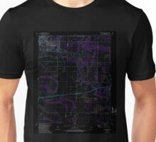 USGS TOPO Map Arkansas AR Jacksonville 258821 1987 24000 Inverted Unisex T-Shirt