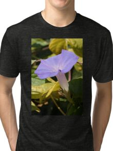 Purple Morning Glory Tri-blend T-Shirt
