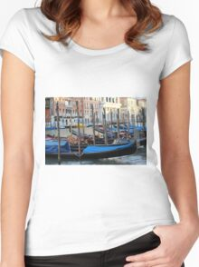 Colours of Venice Women's Fitted Scoop T-Shirt