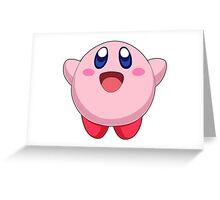 Super Smash Bros. Kirby Greeting Card