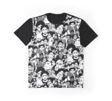 Akaashi manga collage Graphic T-Shirt