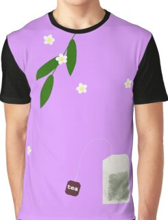 Teatime on Lilac Graphic T-Shirt