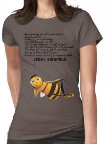 Jerry Seinfeld from The Bee Movie Womens Fitted T-Shirt