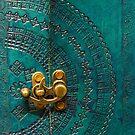 Green Leather Pattern by Ewan Arnolda