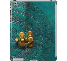 Green Leather Pattern iPad Case/Skin