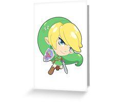 Super Smash Bros. Link Greeting Card
