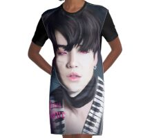Suga's First Love Graphic T-Shirt Dress