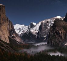 Tunnel View, Yosemite Sticker