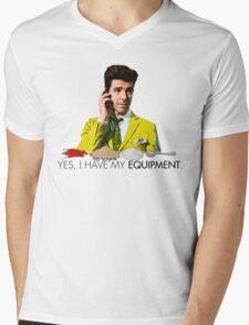 Utopia - Lee Mens V-Neck T-Shirt