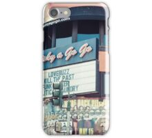 Famous Whisky a Go Go Hollywood California iPhone Case/Skin