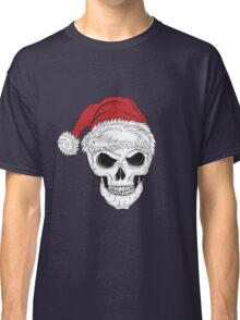 Scary Christmas Skull Classic T-Shirt