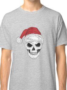 Scary Christmas Skull Classic T-Shirt