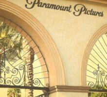 Famous Paramount Studios Hollywood California Sticker