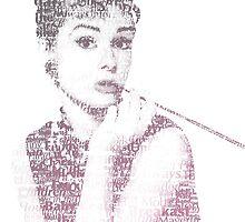 Audrey Hepburn by Kailey Slemp