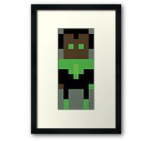 8-Bit Lantern #2 Framed Print