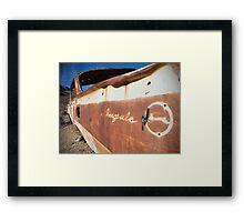 Desert Impala Framed Print