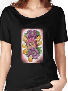 one eye daruma Women's Relaxed Fit T-Shirt
