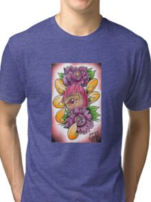 one eye daruma Tri-blend T-Shirt