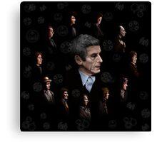 All Doctor regeneration Canvas Print