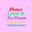 Peace Love & Ice Cream by masachan