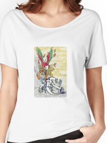 Lugia & Ho-Oh Painting Women's Relaxed Fit T-Shirt