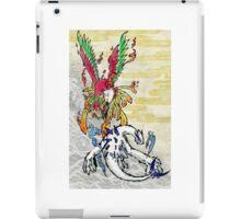 Lugia & Ho-Oh Painting iPad Case/Skin