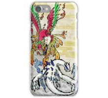 Lugia & Ho-Oh Painting iPhone Case/Skin