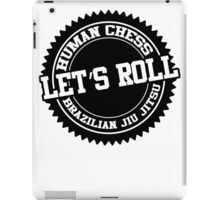 let's roll iPad Case/Skin