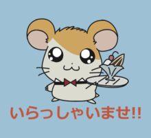 Hamster Waiter Kids Tee