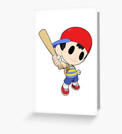 Super Smash Bros. Ness Greeting Card