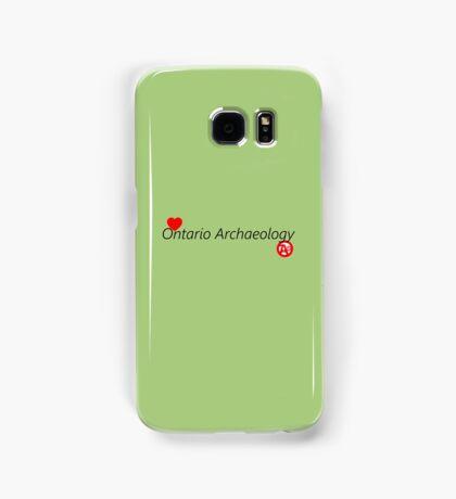 I Love Ontario Archaeology Samsung Galaxy Case/Skin