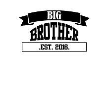 Big Brother black Photographic Print