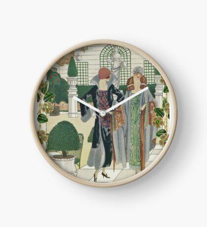 In the Winter Garden Clock