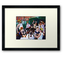 Tasting of the Beer Party Framed Print