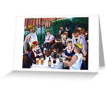 Tasting of the Beer Party Greeting Card