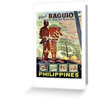 Vintage poster - Philippines Greeting Card