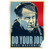 bill belichick Poster