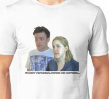 Faces-June And Justin-I'm Not Mc'Donald's'ing On Anyone Unisex T-Shirt